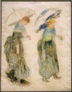 Das Kornfeld um 1879 Impressionismus Getreide Auguste Renoir A3 23