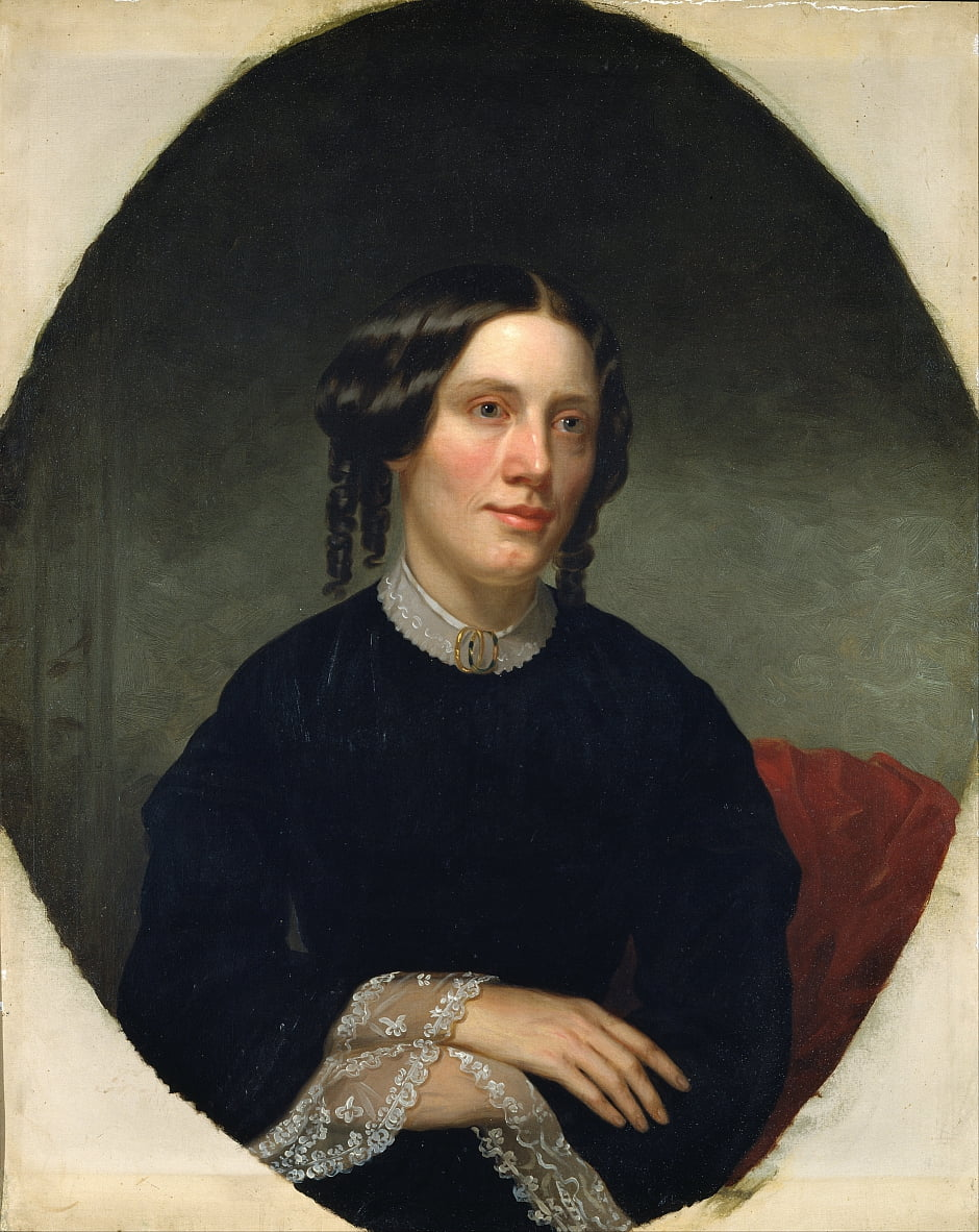 Harriet Beecher Stowe von Alanson Fisher