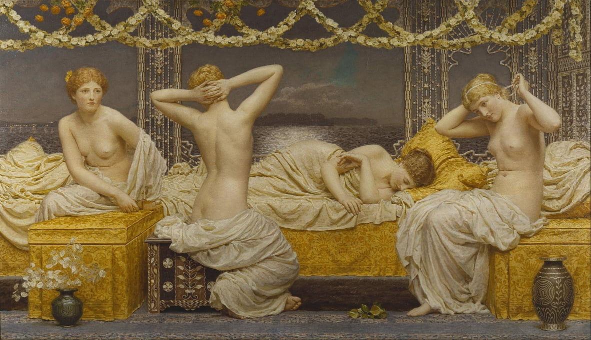 A Summer Night von Albert Joseph Moore