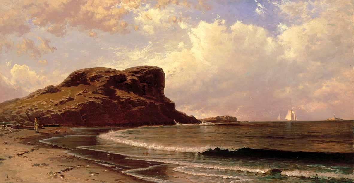 Castle Rock, Nahant, Massachusetts von Alfred Thompson Bricher