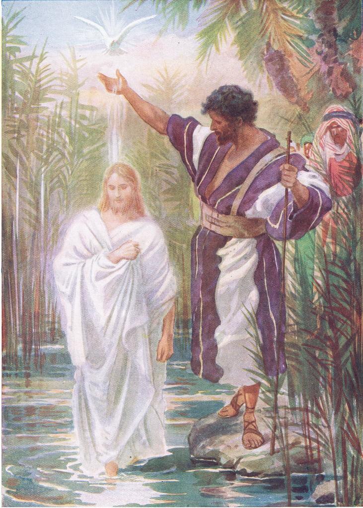 Die Taufe Jesu