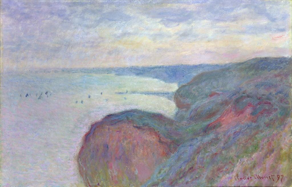 Klippen bei Dieppe, 1897 von Claude Monet (#191068)