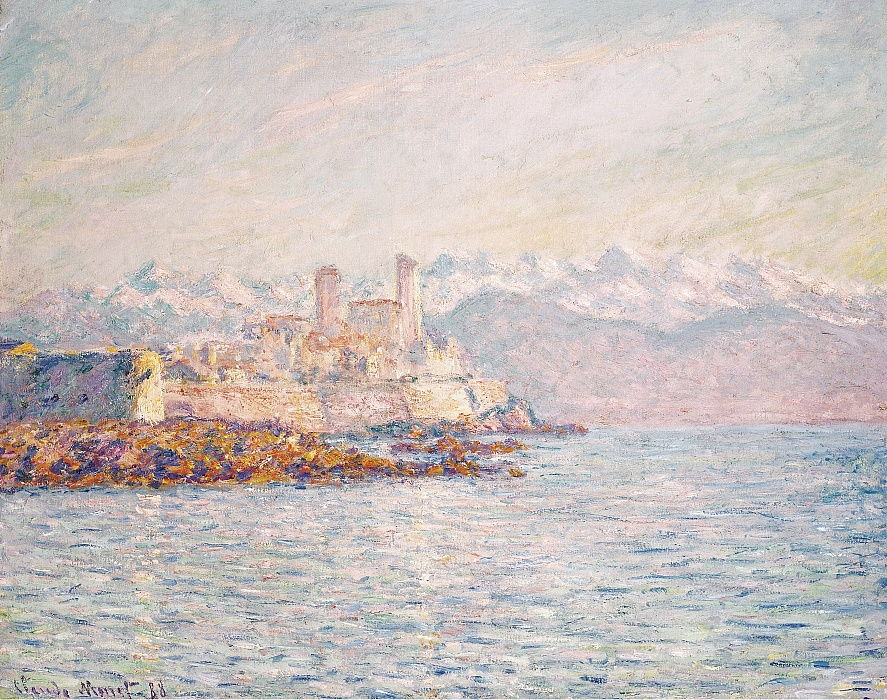 Antibes, 1888. von Claude Monet
