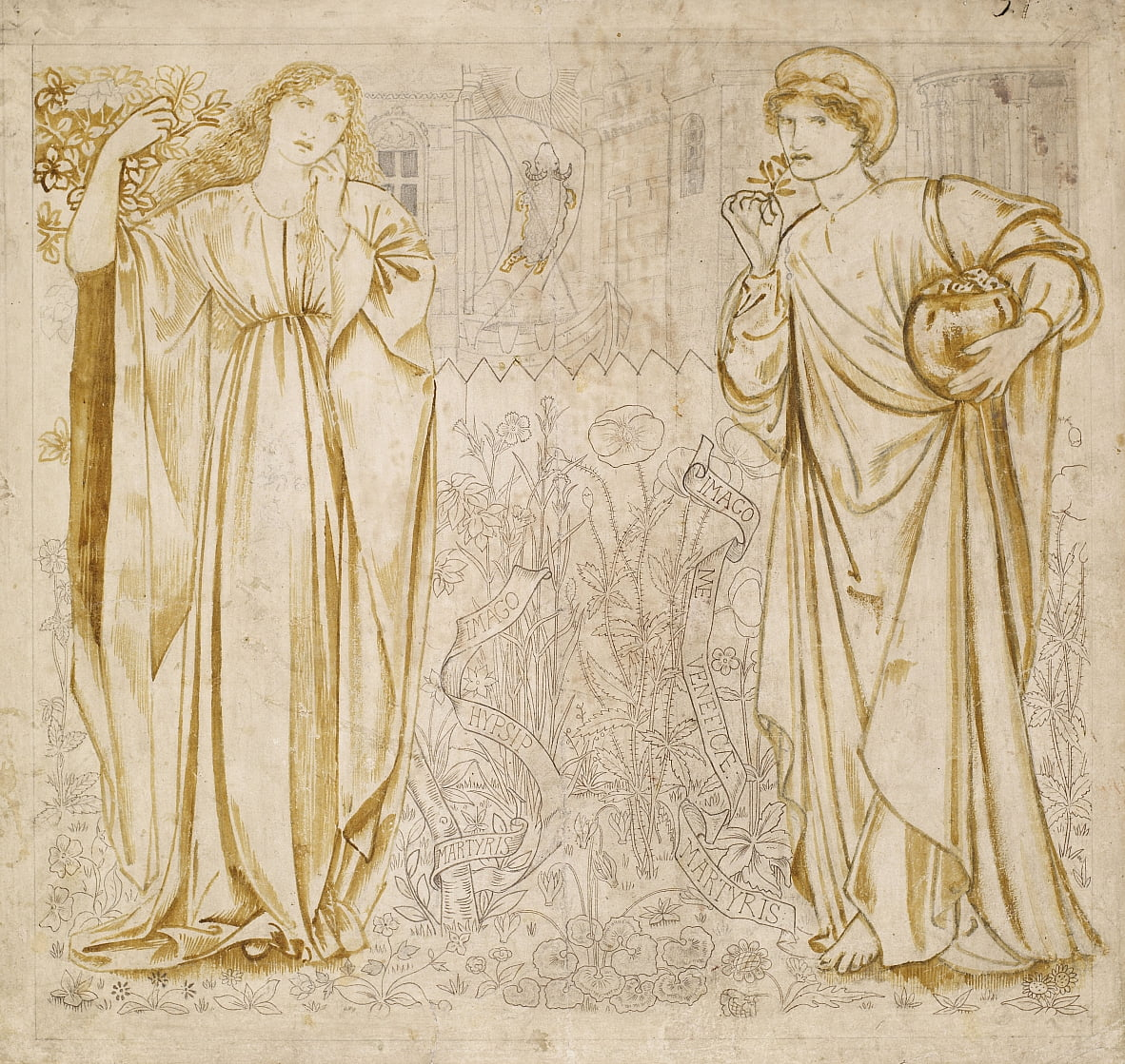 Chaucers Legend of Good Women von Edward Burne Jones