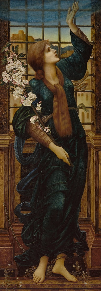 Hoffnung von Edward Burne Jones