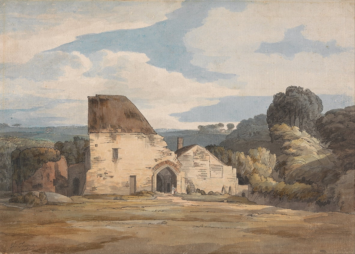 Dunkerswell Abbey, August 20, 1783 von Francis Towne