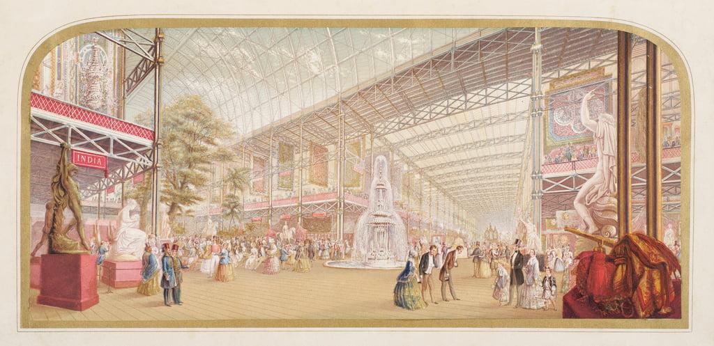 Die Ausstellung im Kristallpalast, 1851 von George Baxter