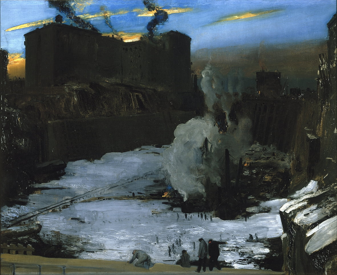 Pennsylvania Station Ausgrabung von George Wesley Bellows