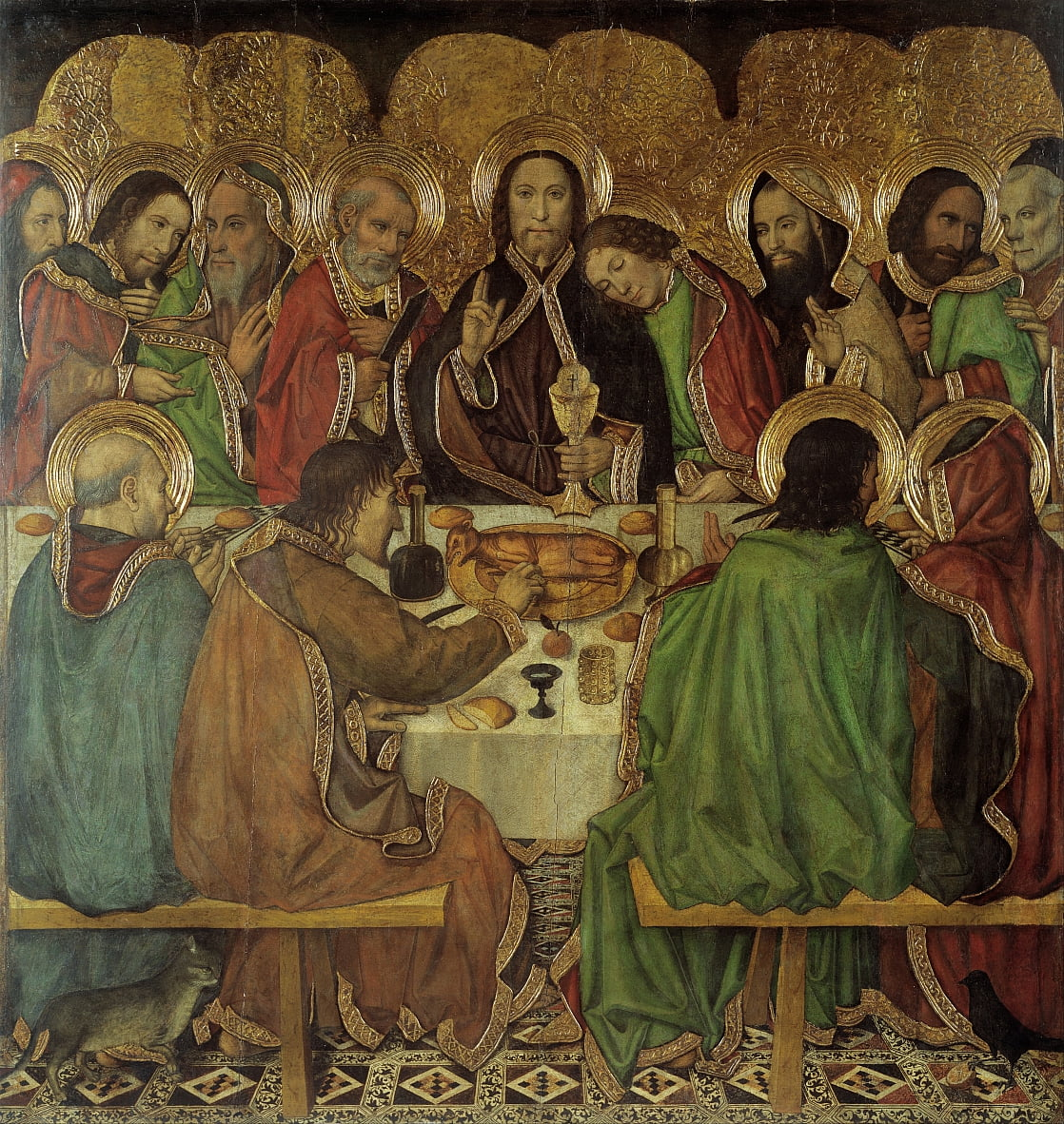 Last Supper von Jaume Huguet