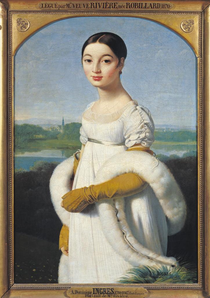 Ritratto di Mademoiselle Caroline Riviere (1793,1803) 1805