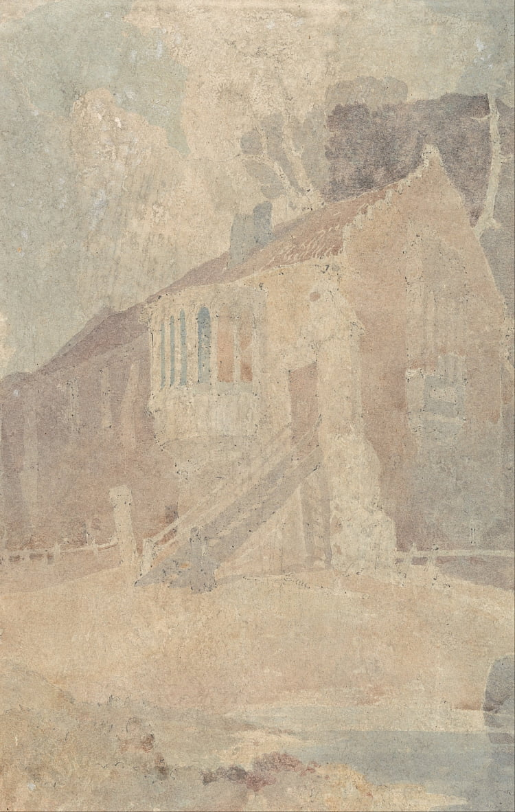 Castle Acre Priory von John Sell Cotman