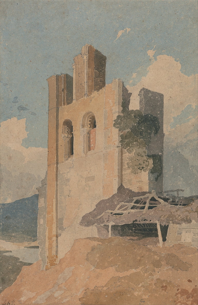 Sheriff Hutton Castle, Yorkshire von John Sell Cotman