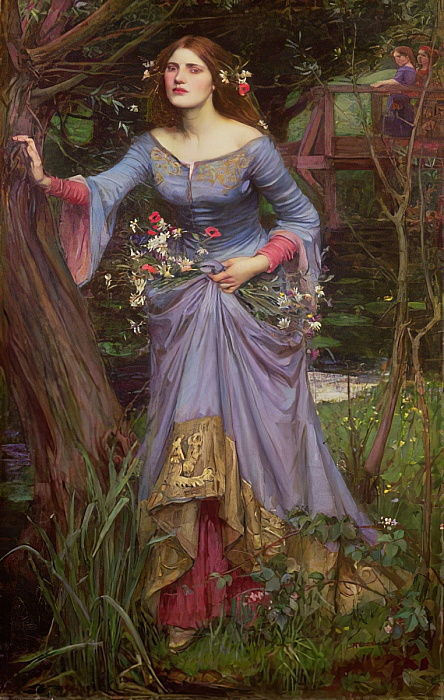 Ophelia, 1910 von John William Waterhouse
