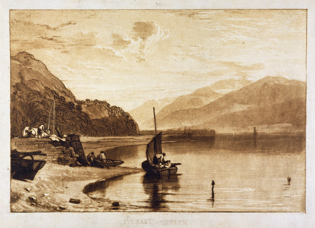 Inverary Pier, 1859-1861 von Joseph Mallord William Turner