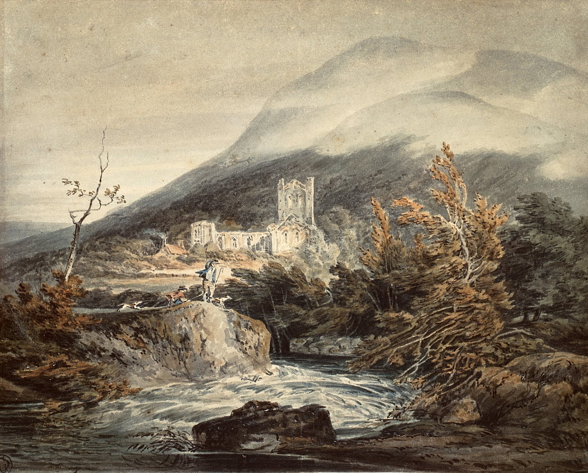 Llanthony Abbey, Monmouthshire von Joseph Mallord William Turner