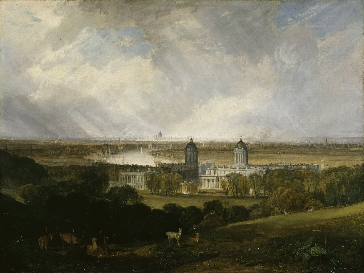 London von Greenwich Park von Joseph Mallord William Turner