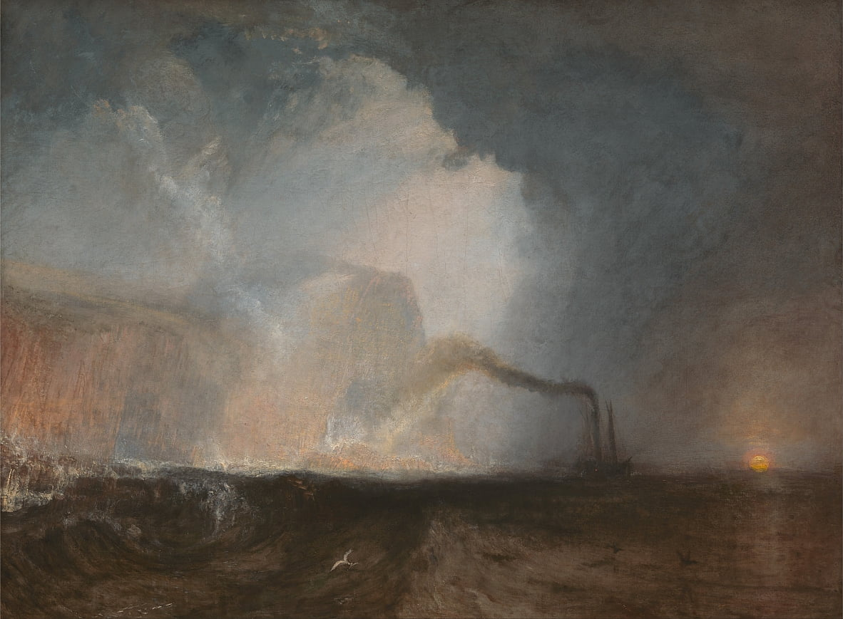 Staffa, Fingals Cave von Joseph Mallord William Turner