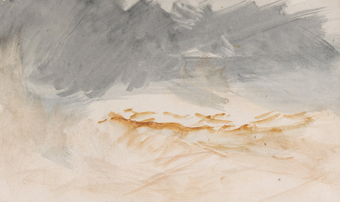 Das Kanal Sketchbook von Joseph Mallord William Turner