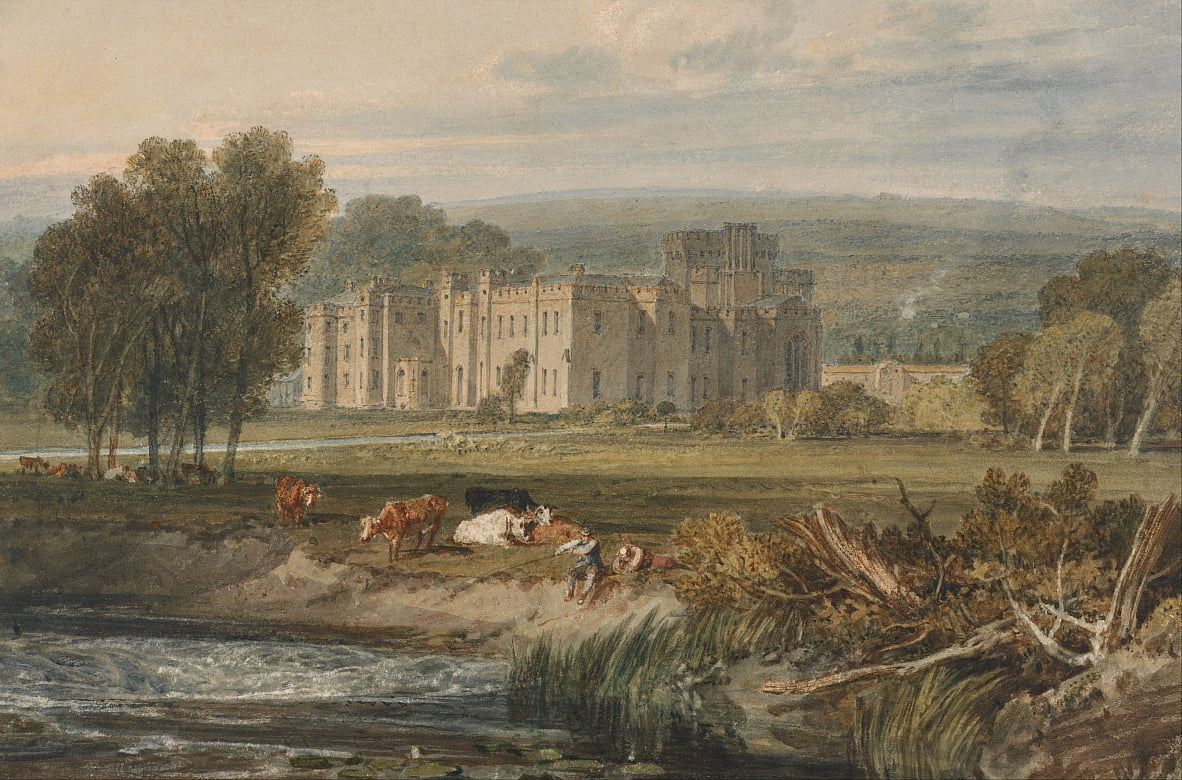 Ansicht von Hampton Court, Herefordshire, von Südosten von Joseph Mallord William Turner