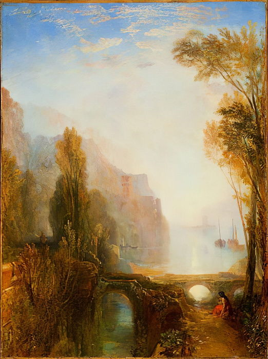 Ufer der Loire von Joseph Mallord William Turner
