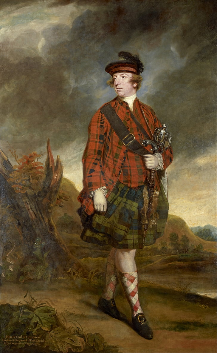 John Murray, 4. Earl of Dunmore von Joshua Reynolds
