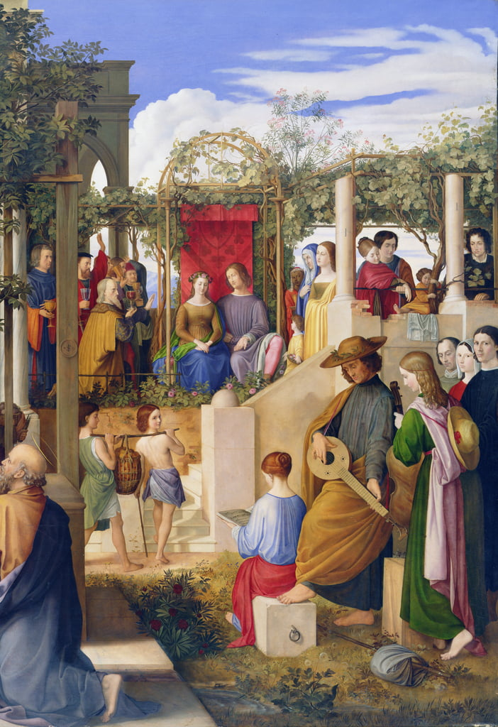 The Marriage At Cana 1819 Detail Of 149006 As Art Print