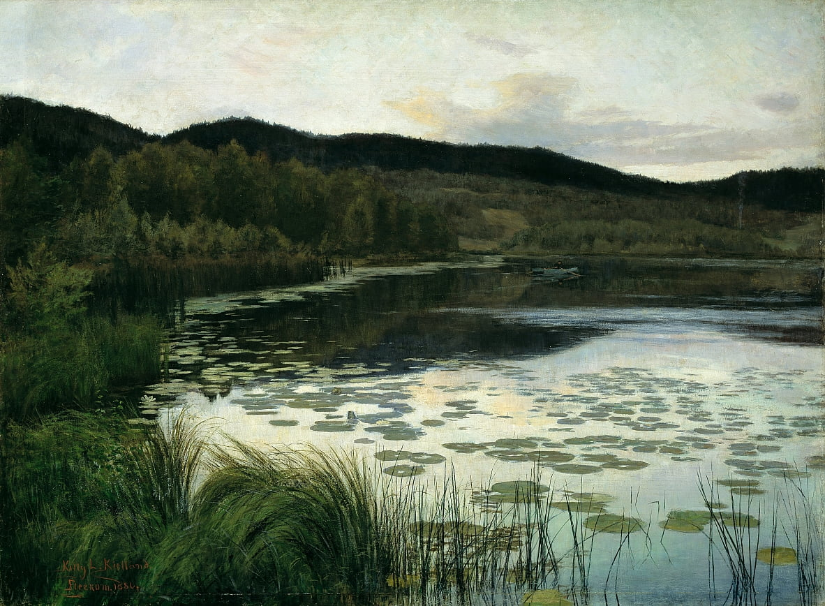 Summer Night von Kitty Lange Kielland