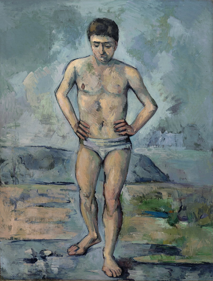 Grand Badende von Paul Cézanne