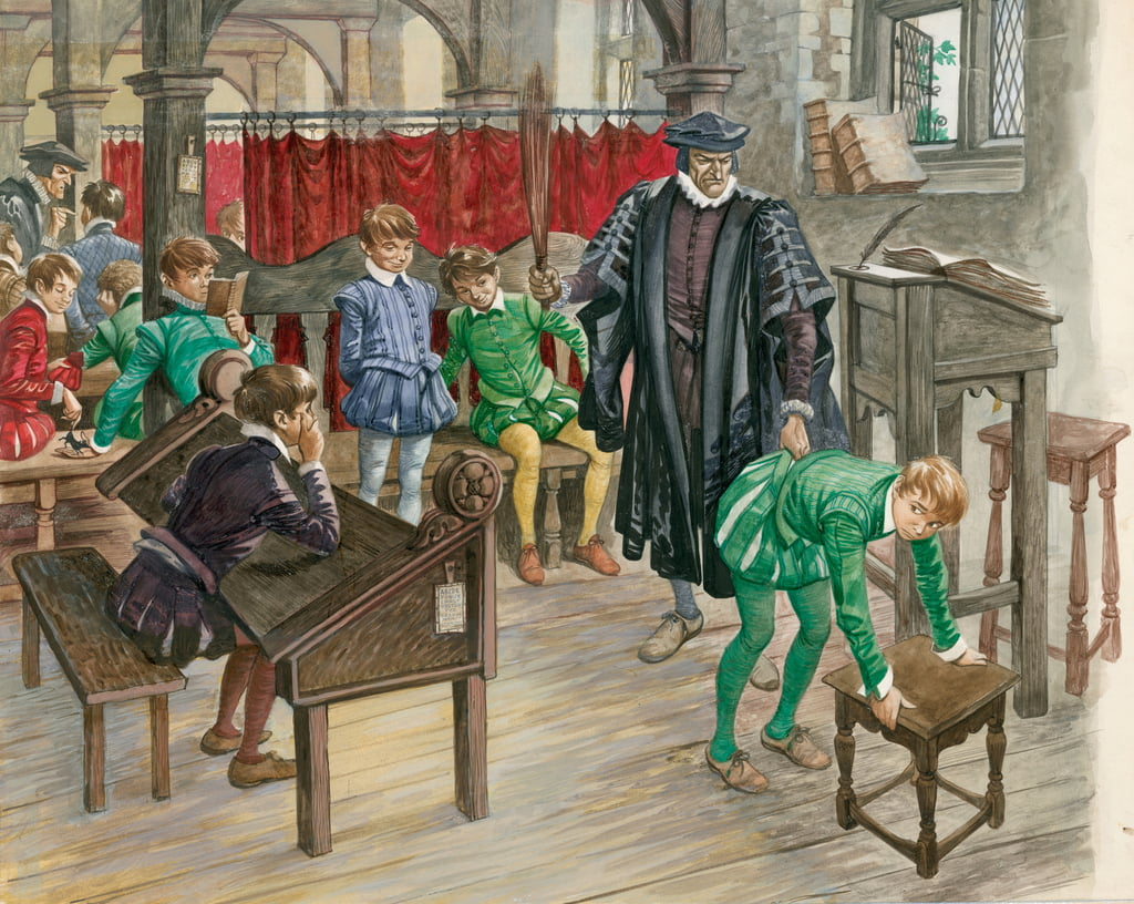 Bestrafung in der Schule im Tudor-Zeitalter (#124102)