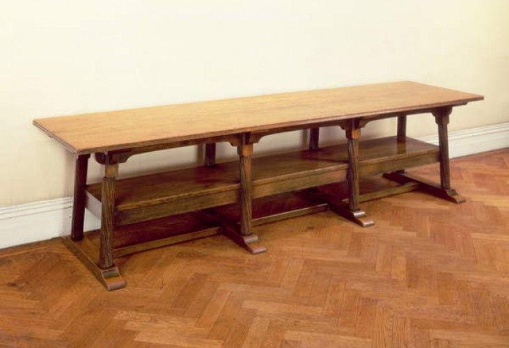 Tavolo da riunione (legno di mogano) di Philip Webb