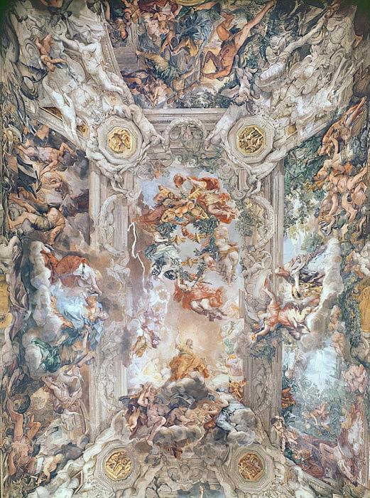 0ab0598c10715 Triunfo de la Divina Providencia de Pietro da Cortona
