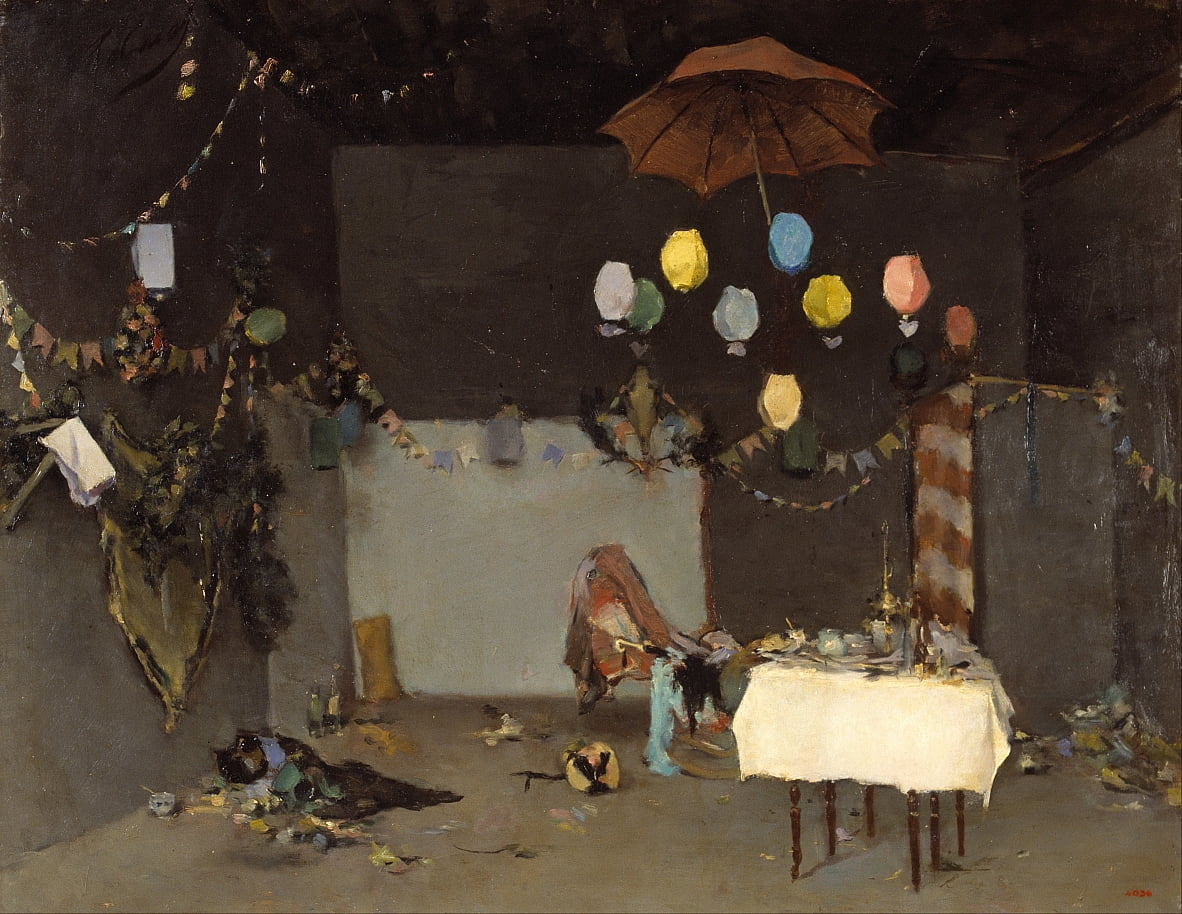 Studio Interior von Ramon Casas i Carbo
