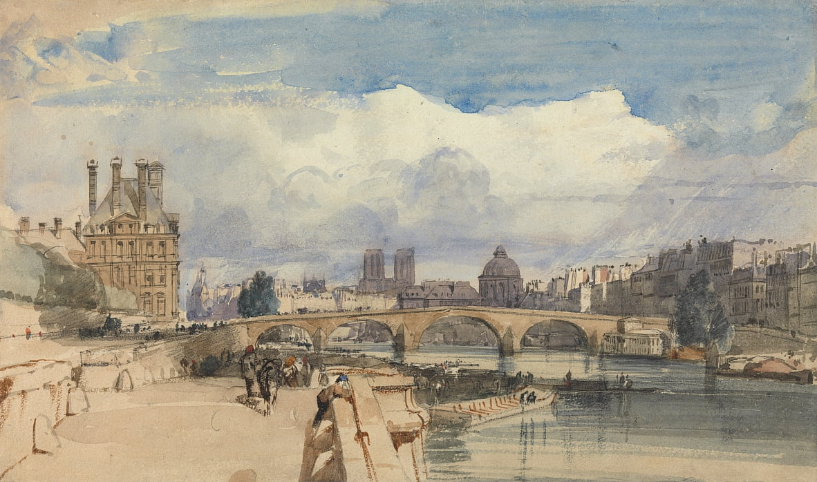 Pont Royal, Paris von Thomas Shotter Boys