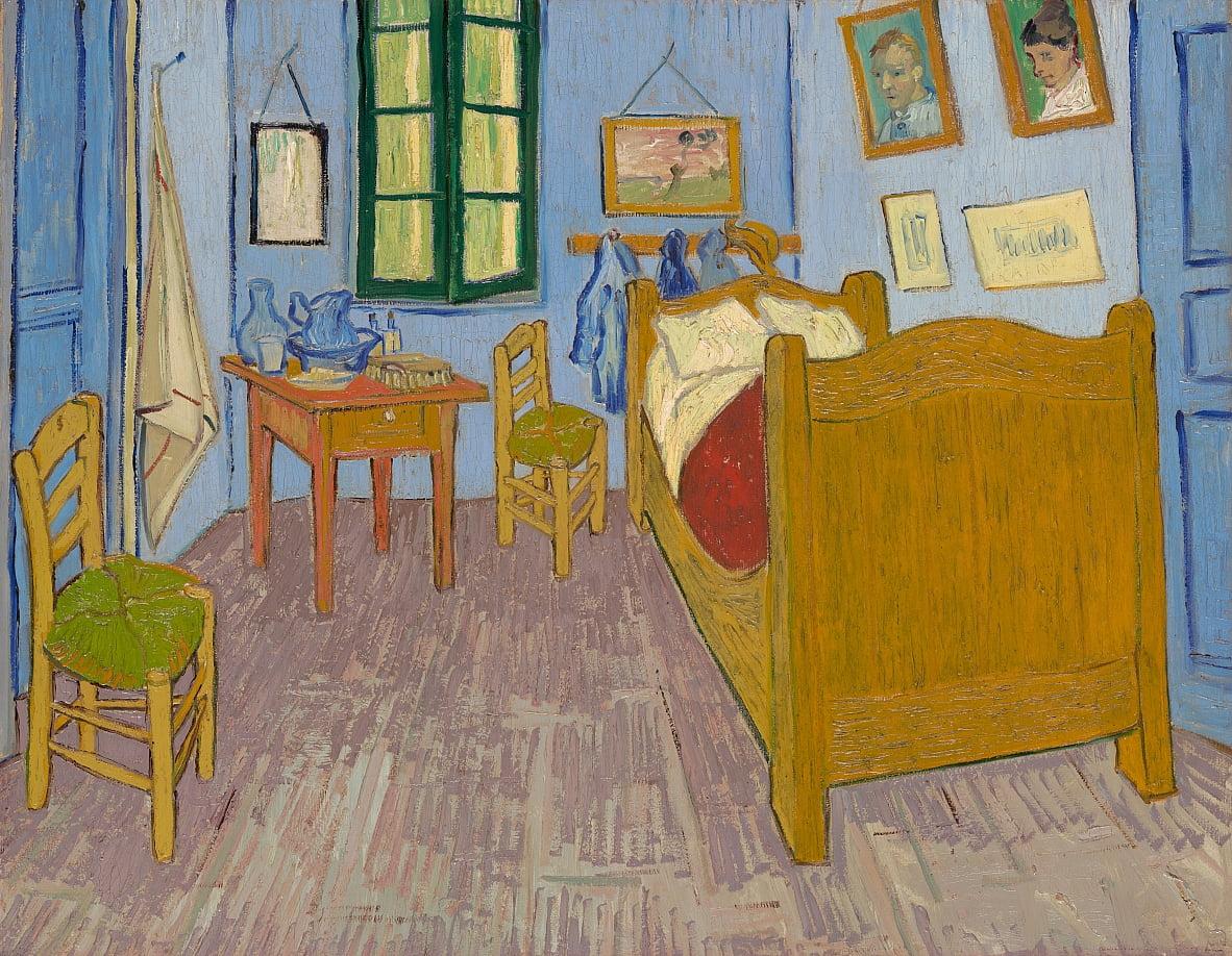 Vincents Schlafzimmer in Arles von Vincent van Gogh (#21922)