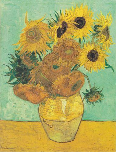 Zwölf Sonnenblumen In Einer Vase Von Vincent Van Gogh