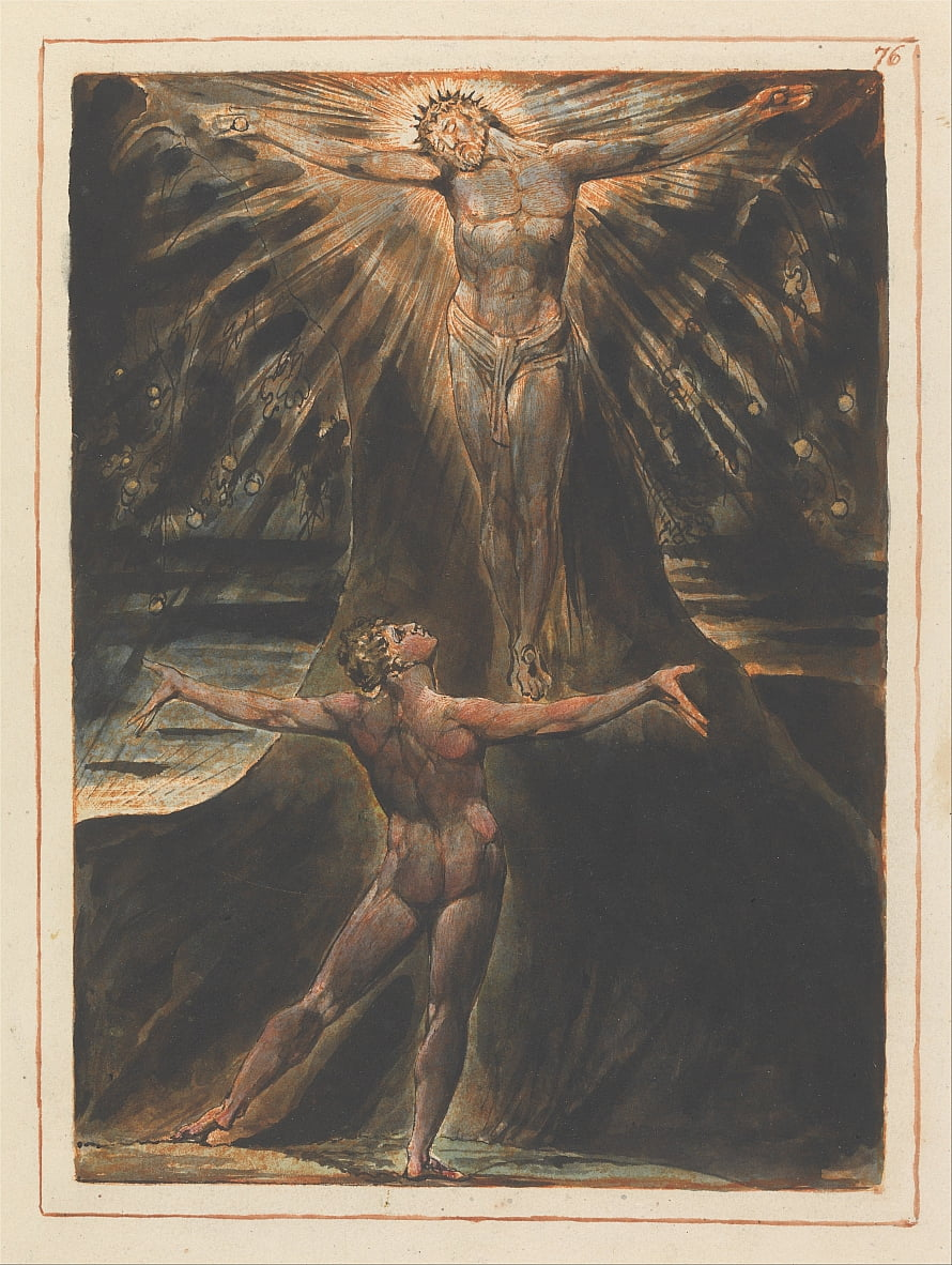 Jerusalem, Platte 76 von William Blake
