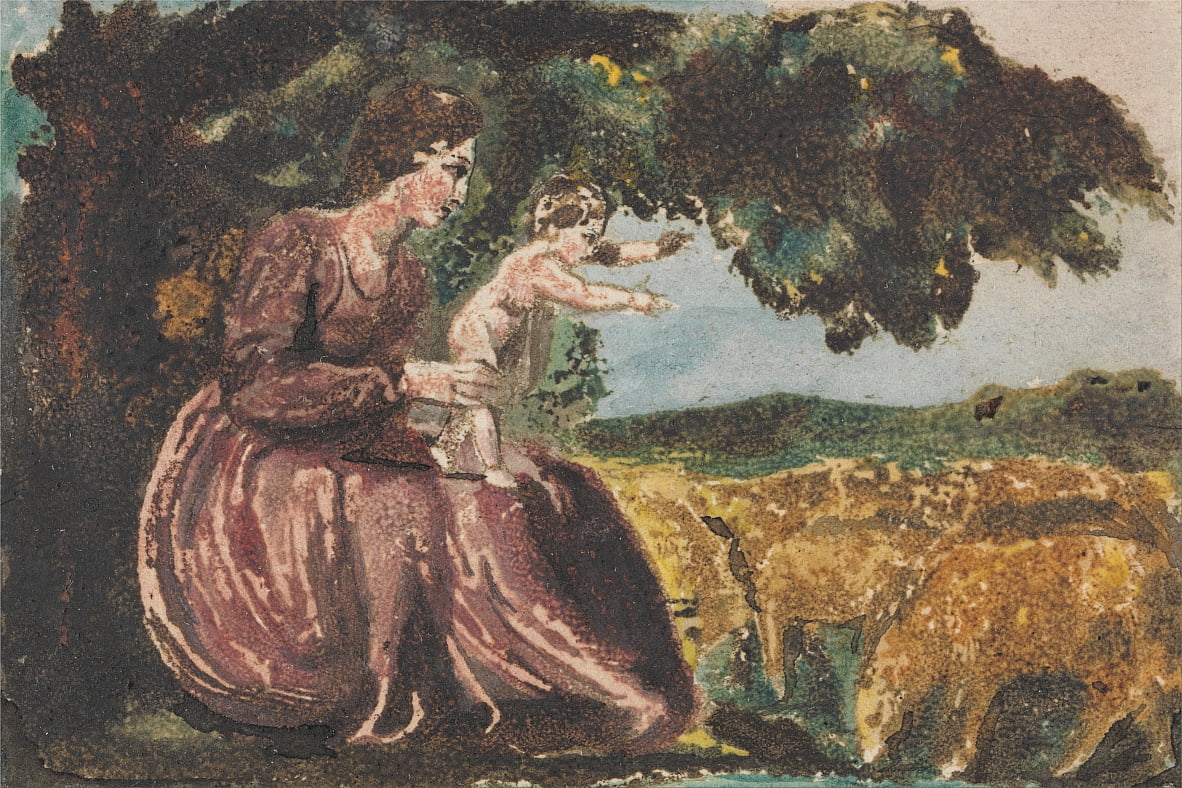 Frühling, von Songs of Innocence von William Blake