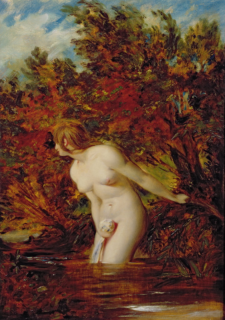 Der Bather von William Etty