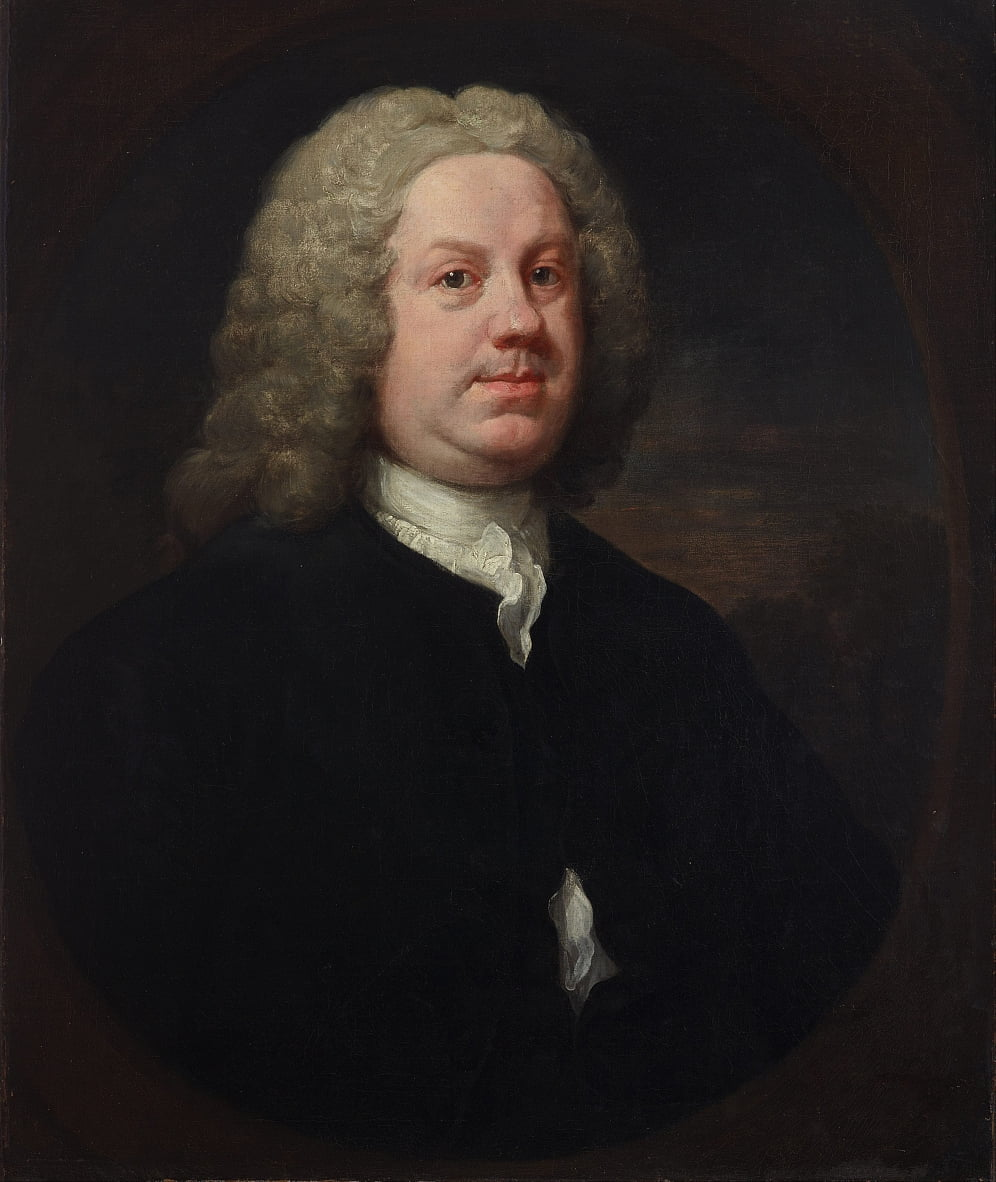Dr. Benjamin Hoadly, MD von William Hogarth