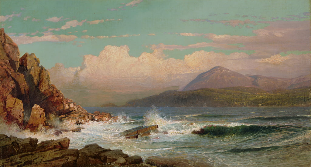 Mt. Wüste, Maine, 1866 von William Trost Richards