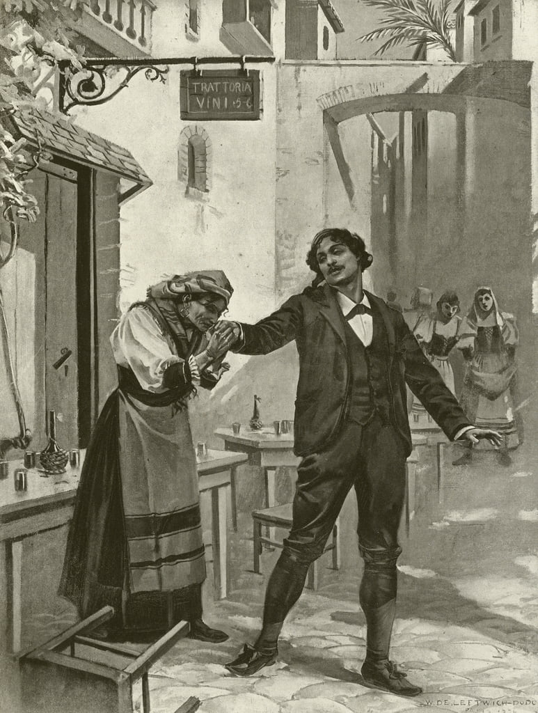 Cavalleria Rusticana, Szene xi  von William de Leftwich Dodge