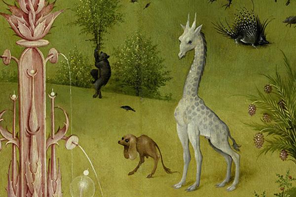 Der Garten der Lüste Detailausschnitt 3