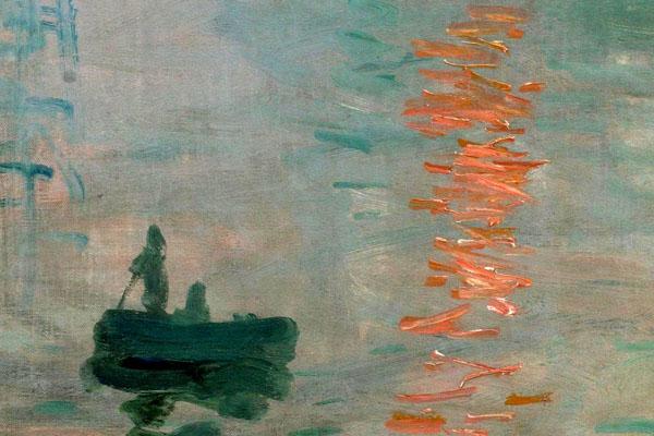 Impression, Sonnenaufgang Detail